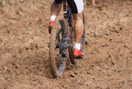 Veranderen is als fietsen in mul zand