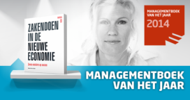 Marga Hoek Winnaar Managementboek van het Jaar 2014