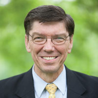 Clayton Christensen wint Thinkers50 Award 2013