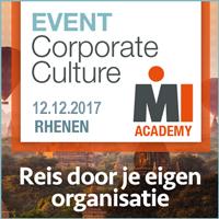 Event Corporate Culture – 12 december 2017