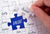 Manage je op waarde, of op waarden?
