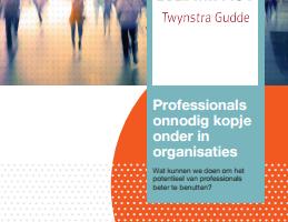 Whitepaper: De rol van professionals bij verandering: valkuilen en stappen