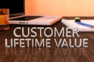 De CLV wordt berekend voor klanten die al zijn binnengehaald