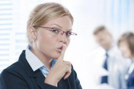 Niet verder vertellen: bedrijfsgeheimen