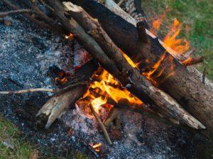 Brand - vuurtje