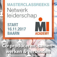 Masterclassreeks Netwerkleiderschap – Start 16 november 2017