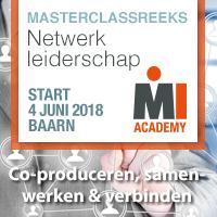 Masterclassreeks Netwerkleiderschap – Start 4 juni 2018