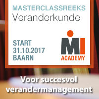 Masterclassreeks Veranderkunde – Start 24 april 2018