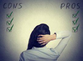 De pro's en con's van pro- en conlijstjes