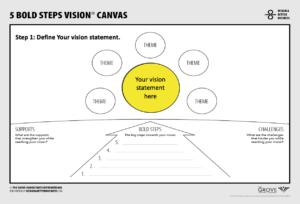 5 bold steps - step 1