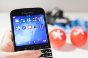 De Blackberry bood veel consistent gemak