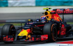 Max Verstappen tijdens het F1-seizoen 2016