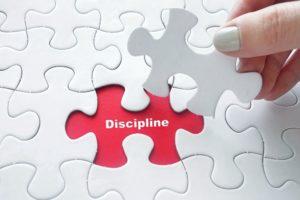 'Discipline en ik houden niet zo van elkaar'
