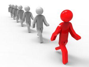 Een leider zet anderen in beweging