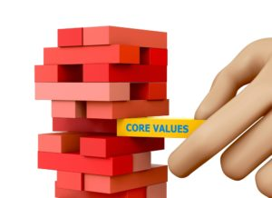 Voor buitenstaanders zijn waarden niet direct zichtbaar