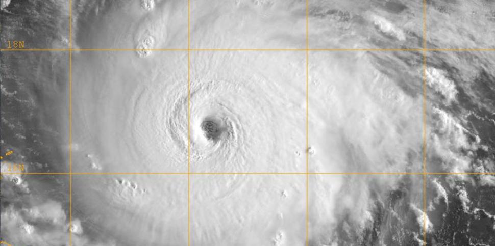 Orkaan Irma (Credits afbeelding: Navy Life, licentie: CC BY-NC-ND (Niet-commercieel hergebruik))