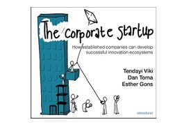 De Corporate Startup genomineerd voor de CMI Management Book of the Year Award 2018