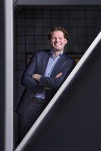 Nederland, AmstelveenMaarten Schurink, voorzitter van de Raad van Bestuur van de Sociale Verzekeringsbank. Foto: Martine Sprangers