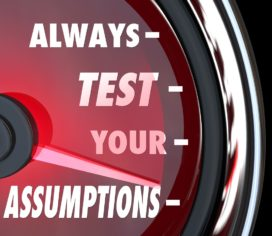 De Key Assumptions Test