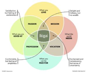 Ikagai (Klik voor groter)