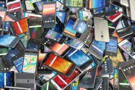 Even geen smartphone, ook niet op de werkplek