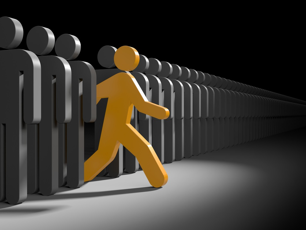 Het gaat bij leiderschap om de vraag of u bereid bent om initiatief te nemen