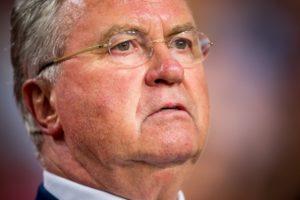Voetbalcoach Guus Hiddink