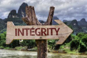 Integriteit en het grote grijze gebied