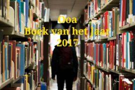 Genomineerde boeken Ooa Boek van het Jaar 2017 bekend