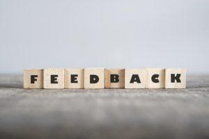 Onderken de spelregels van feedback geven