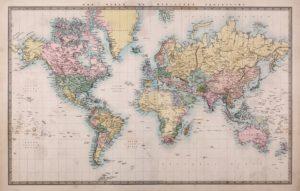 De kaart is niet het gebied